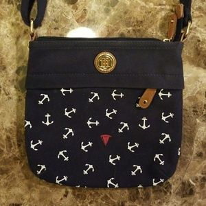 TH anchor cross body purse